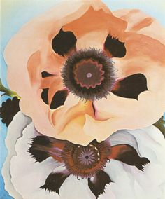 Color Crush || BlushPoppies, by Georgia O'Keeffe, 1950