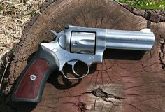 Ruger GP100 357 Magnum Revolver. Yeah, only 6 shots, but then you can beat them with this hunk of metal!