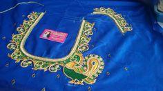 Noorfasion Embroidery Neck Designs, Crewel Embroidery, Beaded Embroidery, Black Blouse Designs, Silk Saree Blouse Designs, Wedding Blouses, Aari Work Blouse, Maggam Works, Designer Blouse Patterns