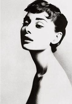 Audrey Hepburn, actress, New York, 1953