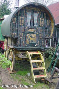 Bow Top Gypsy Wagon
