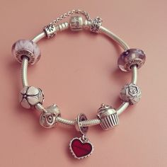 nanabelle's soufeel bracelet with her pandora charms,love it?  www.soufeel.com