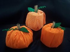 THE easiest pumpkin craft ever.  My 3 year old twins did this yesterday and it's so cute.  Instead of attaching the stem and leaf we just used a green napkin and then used a rolled up paper lunch bag for the stem.