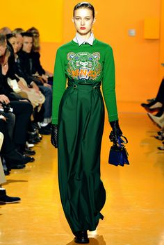 Kenzo   Fall 2012 Ready-to-Wear Collection   Style.com