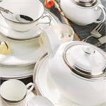 Aynsley China Elegance 5Pc Completer Set Bowl Set, China, Porcelain Ceramics, Porcelain