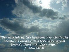 """""Psalm 103:11"" by Carter L. Shepard"" by echoesofheaven | Redbubble"