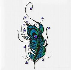 Itemship- Realistic personality Crystal feather female waterproof tattoo sticker Temporary Tattoos by Itemship, http://www.amazon.ca/dp/B00GD84AUE/ref=cm_sw_r_pi_dp_n05Dsb0DQ1WJR
