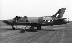 2 Sqn Supermarine Swift FR.5, XD922 at RAF Geilenkirchen May 56