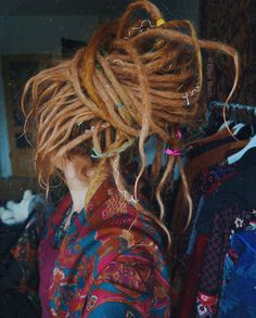 Find images and videos about girl, hair and dreads on We Heart It - the app to get lost in what you love. White Girl Dreads, Dreads Girl, Dreadlock Hairstyles, Cool Hairstyles, Dread Bun, Rasta Girl, Beautiful Dreadlocks, Dreads Styles, Dreadlock Styles