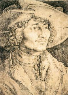 Portrait of a Young Man by Albrecht Durer, 1521 ~Repinned Via Tanya Yakovenko