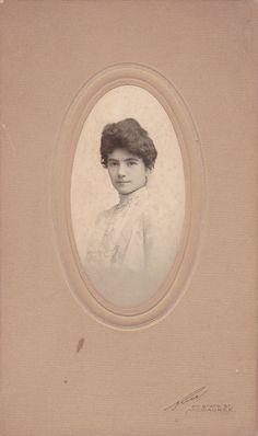 Beautiful Aunt Martha Edwardian Portrait 1900s by EphemeraObscura, $6.00