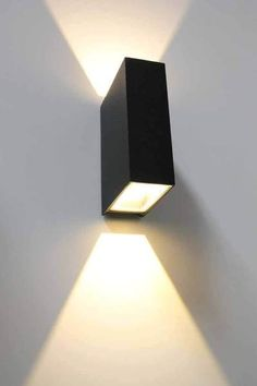 Block Up/Down Exterior Wall Lights | Facade Lighting Australia | Outdoor - Fat Shack Vintage
