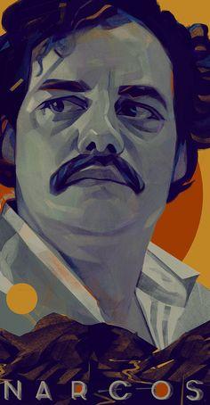 Pablo Escobar (Wagner Moura) By : Kyle Scott Pablo Emilio Escobar, Don Pablo Escobar, Pablo Escobar Quotes, Blue Exorcist, Narcos Escobar, Narcos Poster, Narcos Wallpaper, Narcos Pablo, Gangster Girl