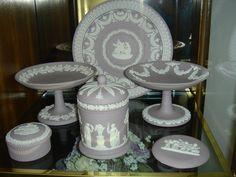 Lilac Jasperware Wedgwood