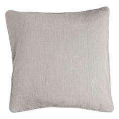 Large Cotton Slub Cushion | Dunelm