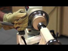 Metal Spinning a Bowl on a Lathe - YouTube