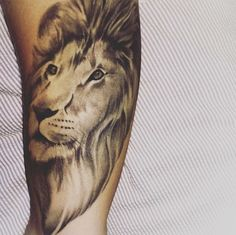 Lion Tattoo - Lady Luck Portsmouth