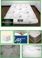 Meteor 1000 Pocket Latex Mattress Kingsize Divan Bed By eXtreme Comfort  £489.99