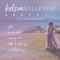 #KelseaBallerini #LEGENDS video! 😏 http://vevo.ly/X94cSM