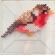 Bird perler beads by dixiebellegifts