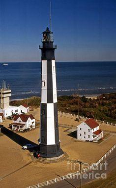 New Cape Henry lighthouse VA