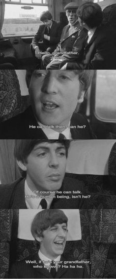 """""""A Hard Day's Night"""" BEST. MOVIE. EVER."""
