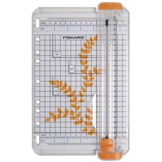 Buy Fiskars Surecut Portable Paper Cutter from the Paper Cutting Tools range at Hobbycraft. Fiskars Paper Cutter, Precision Scale, Wedding Gift List, Paper Trimmer, Carton Invitation, Scrapbooking, What To Use, A4 Paper, Hobbies And Crafts