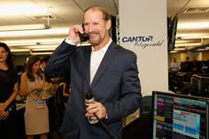 Thank you to former NFL Coach Bill Cowher for helping The Bone Marrow Foundation at Cantor Fitzgerald's Charity Day 2013. #CFCharityDay #CFReliefFund