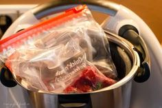 Sous vide in the Thermomix