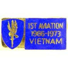 "U.S. Army 1st Aviation Brigade Vietnam Pin 1 1/8"" by FindingKing. $8.99. This is a new U.S. Army 1st Aviation Brigade Vietnam Pin 1 1/8"""