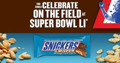 Snickers Sweepstakes: Enter For a Chance To Win FREE Candy Bars (200,000 Winners) &More