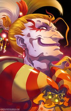 Final Fantasy VI - Kefka by *HeavyMetalHanzo on deviantART