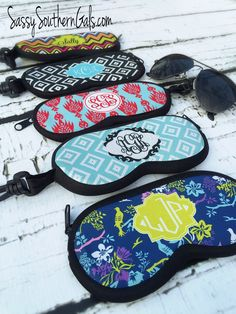 SunGlasses Case, Monogrammed Sunglasses Case, Personalized Sunglasses Case, Custom Sunglasses Case, Glasses Case, Eyeglass Case by SassySouthernGals on Etsy https://www.etsy.com/listing/225462293/sunglasses-case-monogrammed-sunglasses
