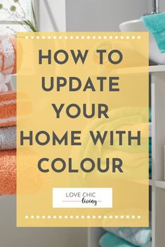 Colourful home decor ideas for a bright, modern, bohemian home. Whether you want a pop of colour, some neutrals, pastels or vibrant shades, these designs will help you create a vintage, cozy space. #lovechicliving #colourfulhome #homedecor Kitchen Colour Schemes, Room Color Schemes, Room Colors, Wall Colors, House Colors, Home Decor Trends, Decor Ideas, Half Bathroom Remodel, Gloss Paint