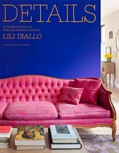 Want this pink sofa!