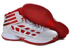 best website b3919 b299f great white shoe Adidas Adizero Rose 2.5 Red White Mens  59.99 af cut off!  (via Adidas AdiZero Rose 2.5 Wholesaleadidasstore.com)