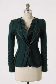 victorian inspired jacket. by callie