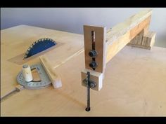 Guía vertical para sierra de calar de mesa. - YouTube