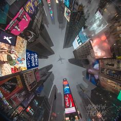 Time Square Winter Lookup – Andrew Thomas