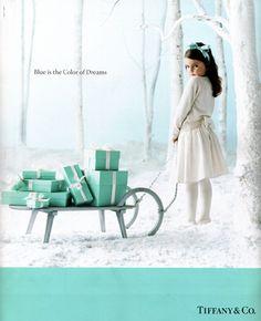 Aqua Turquoise Tiffany Blue Christmas,