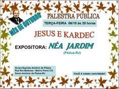 GEAP – Grupo Espírita Antonio de Pádua Convida para a sua Palestra Pública - http://www.agendaespiritabrasil.com.br/2015/10/06/geap-grupo-espirita-antonio-de-padua-convida-para-a-sua-palestra-publica-2/