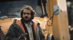 Stanley #Kubrick on set