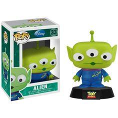 Disney Alien POP Vinyl Figure (green) 830395025469 - $14.99 http://popvinyl.net #popvinyl #funko #funkopop