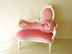 Rakuten: Imported furniture ■ Princess furniture ■ Audrey ■ actress Ribbon sofa ■ Velvet ■ Baby Pink upholstery- Shopping Japanese products ...