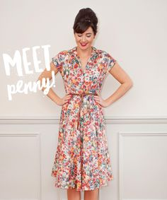 """1,709 Likes, 100 Comments - Sew Over It (@sewoveritlondon) on Instagram: """"We've done enough teasing... it's new pattern time!  Say hello to Penny!  Already a PDF Club…"""""""