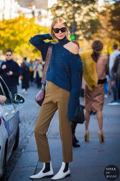 Paris SS 2017 Street Style: Julie Pelipas
