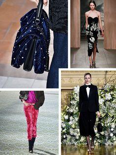 AW16 Fashion Trends on the catwalk at Sonia Rykiel, Erdem, Vanessa Seward and Haider Ackermann
