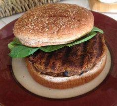 Easy Vegan Black Bean and Juicer Pulp Veggie Burger Recipe