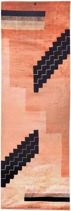 Art Deco Carpet by Ivan da Silva Bruhns (1881 – 1980)