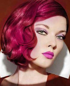 colorful hair styles 1000 images about hairstyles on wavy 2257 | e90e0ed6e3f298ee152a5cd2257ff49d